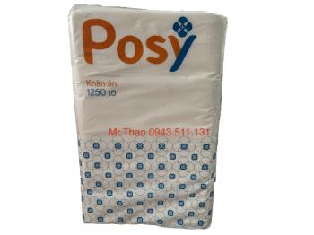 Khăn ăn Posy k210 - 1250 tờ